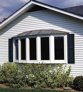 double hung windows-vinyl siding