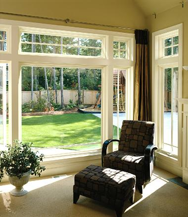 Wood Window Alternative - Composite Wood Windows