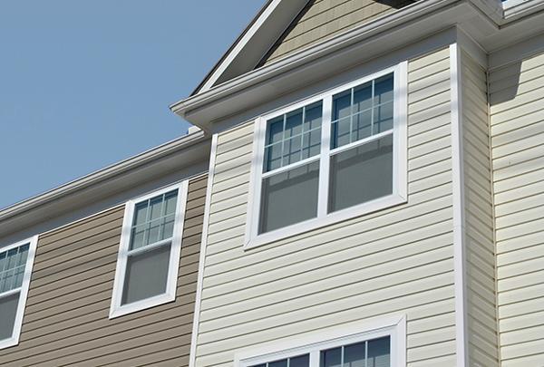 Vinyl Windows on a home.