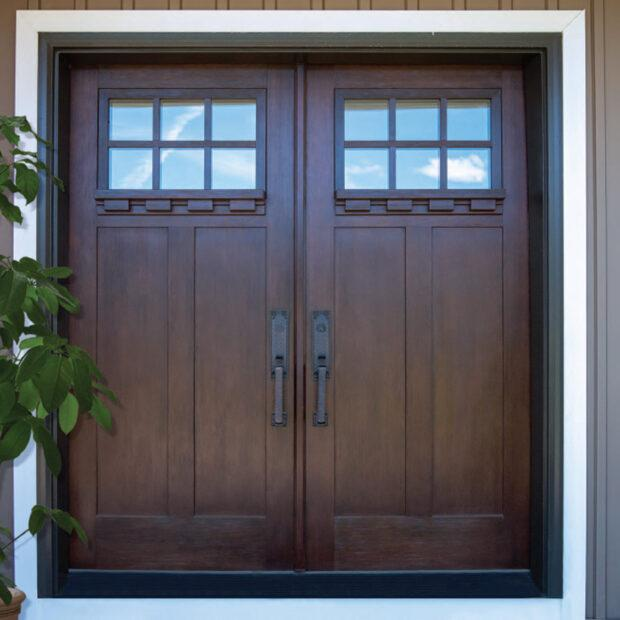 Exterior door in Raleigh, French Door style