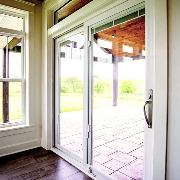 Patio sliding glass entry door in Raleigh