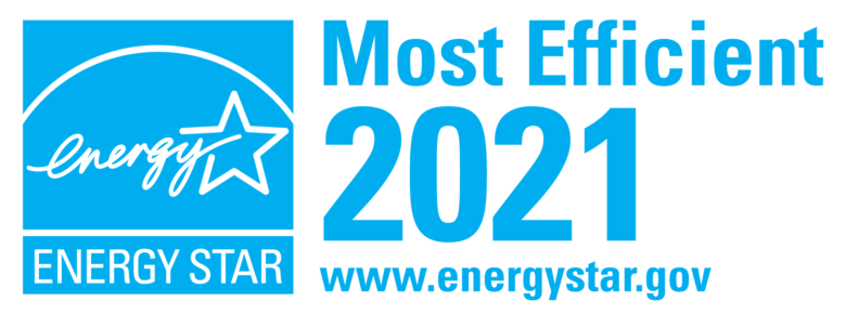 Energy Star Rated for Most Efficient in 2021