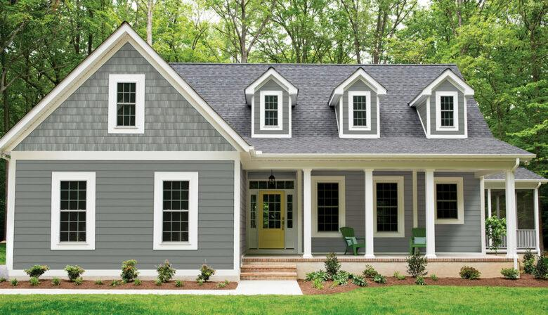 Beautiful Home with Reliable Siding Replacement Company in Raleigh